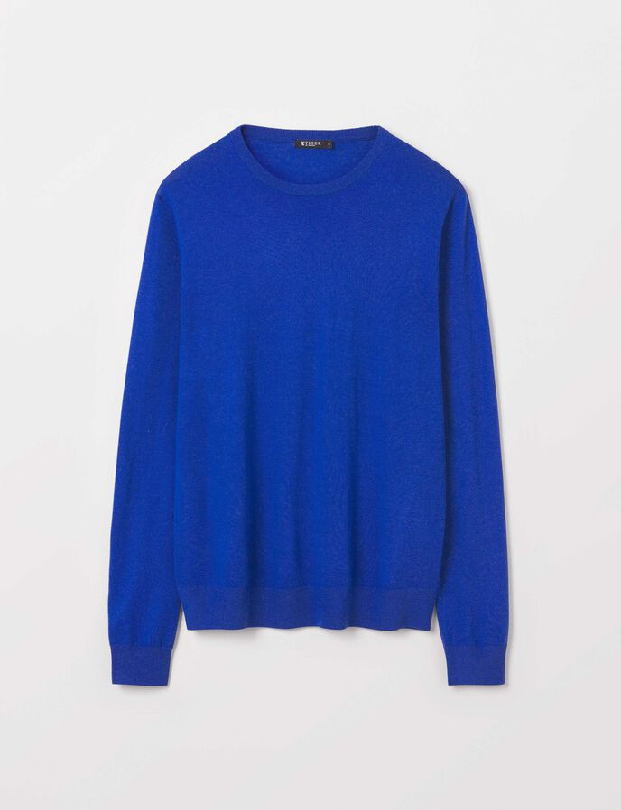 Nichols Pullover in Pop Blue from Tiger of Sweden