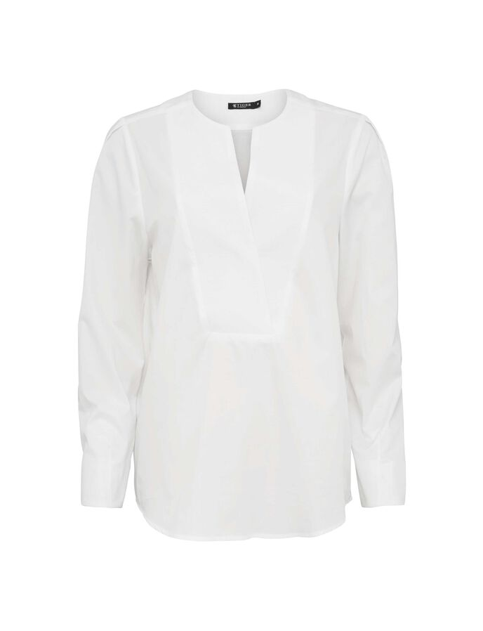 NAJAD SHIRT in Bright White from Tiger of Sweden