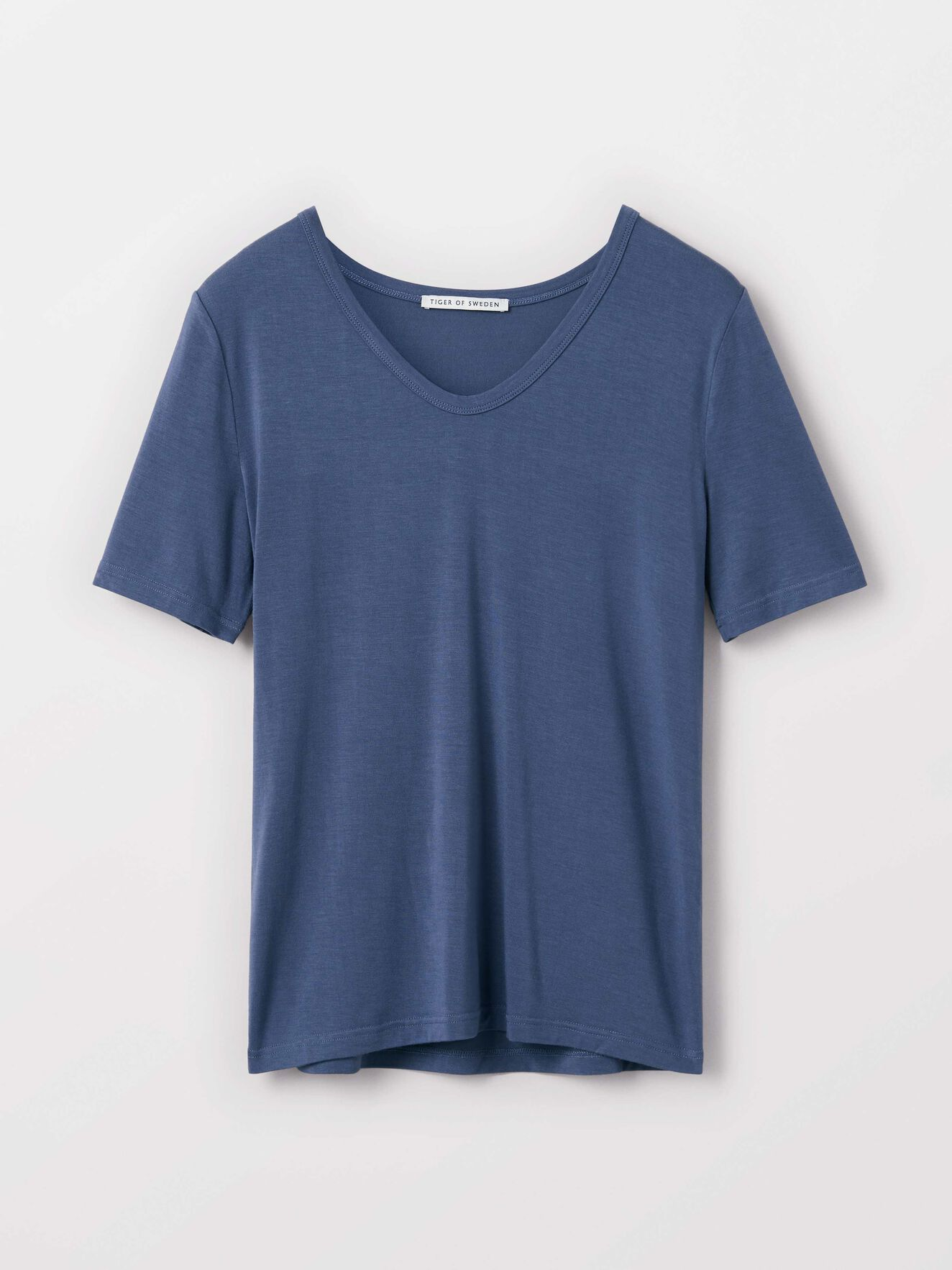 Hapa T-Shirt in Soft blue from Tiger of Sweden