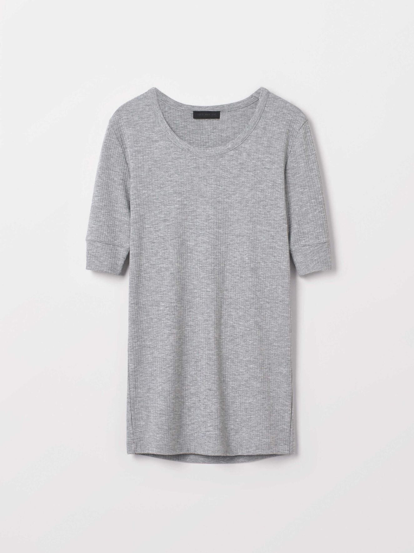 Violent T-Shirt in Med Grey Mel from Tiger of Sweden