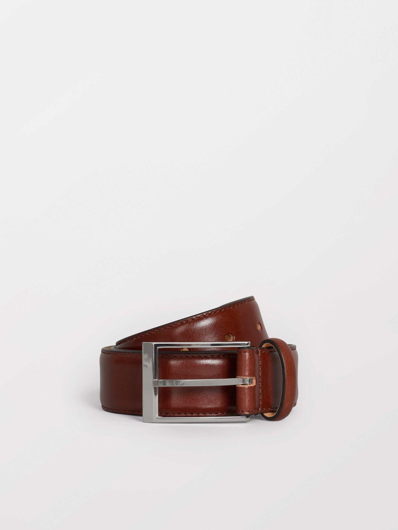 Barest Belt in Cognac from Tiger of Sweden