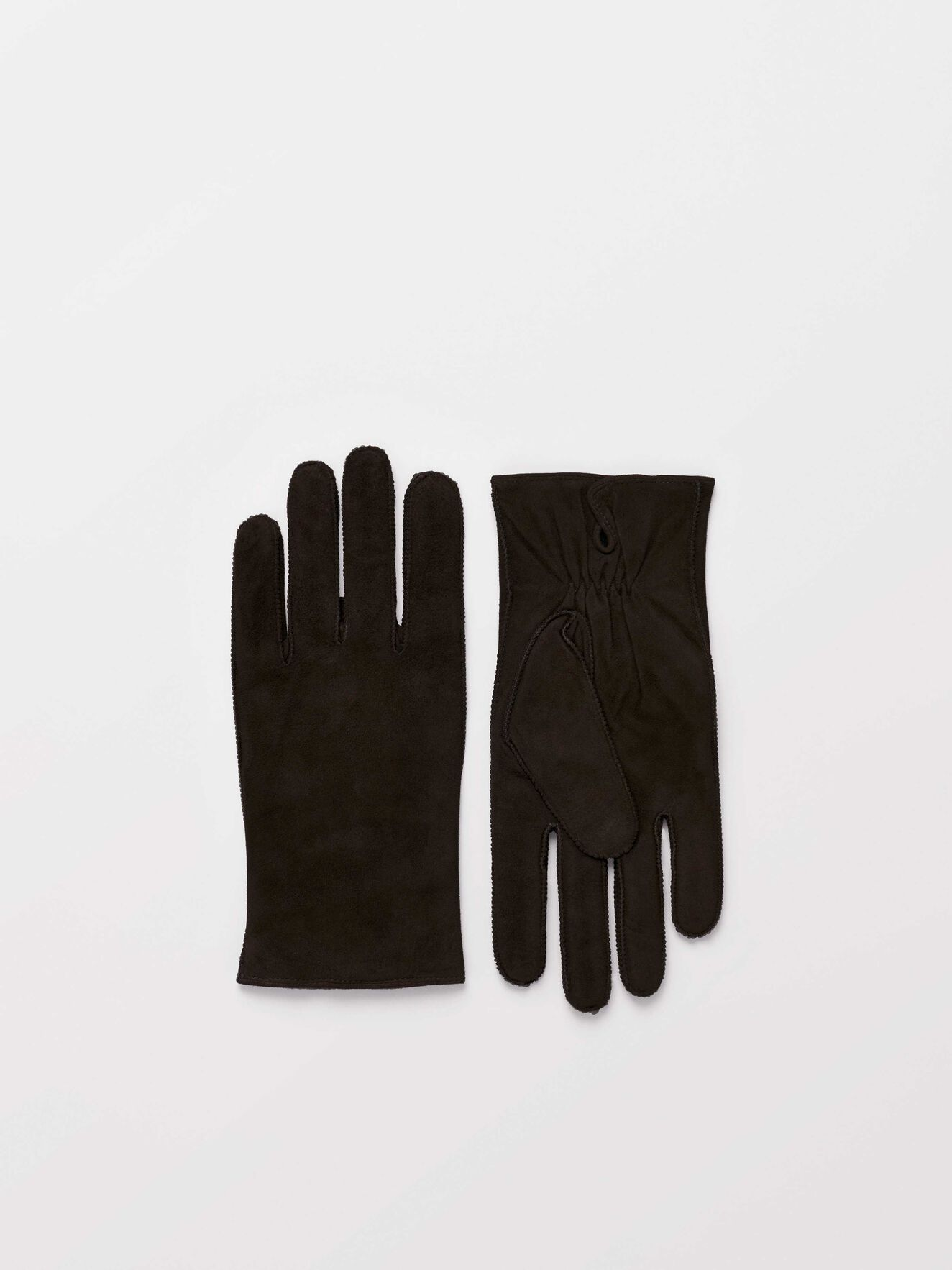 Gandaluss Gloves in Dark Brown from Tiger of Sweden