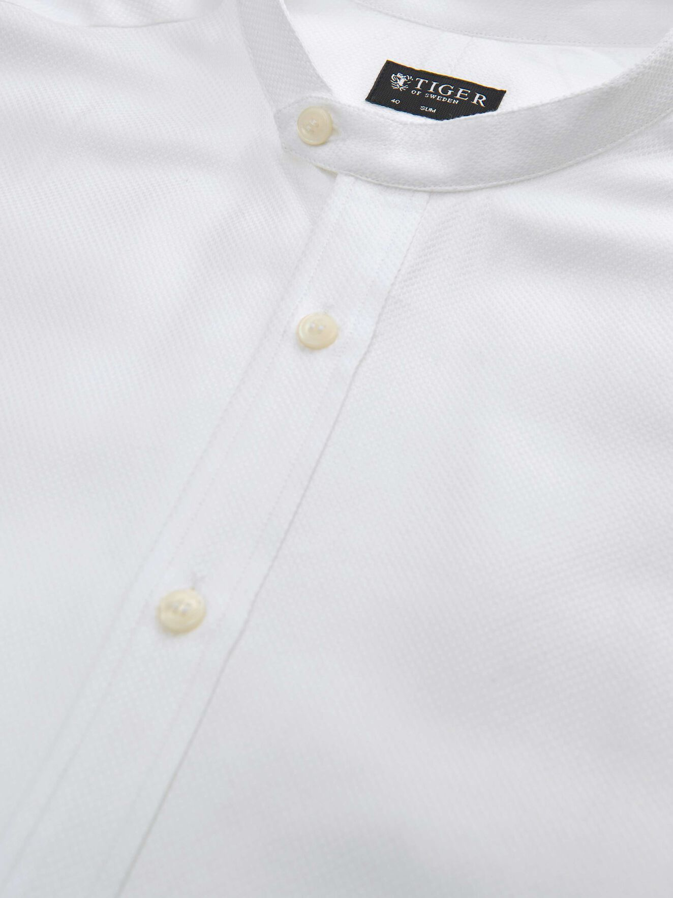 Ferante Shirt in Pure white from Tiger of Sweden