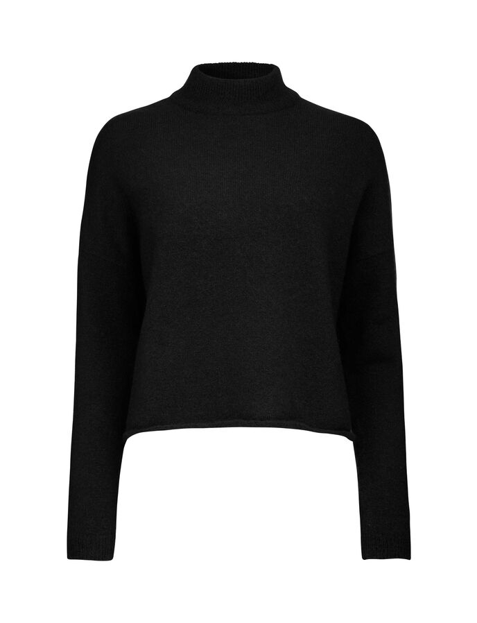 DOT PULLOVER in Black from Tiger of Sweden