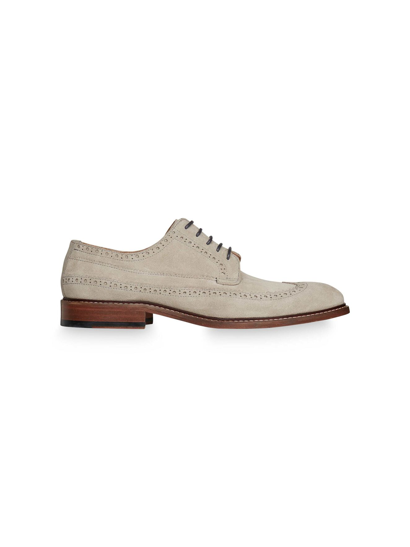 Lunder Brogue in Pale grey from Tiger of Sweden