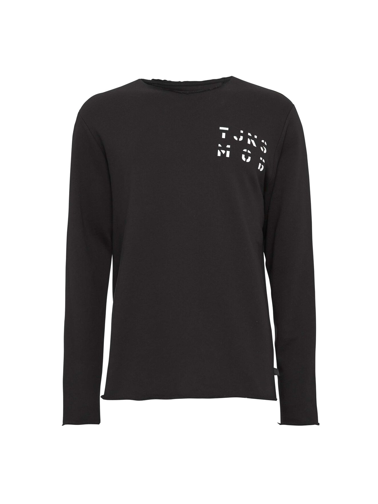 Destroyed  Sweatshirt in Black from Tiger of Sweden