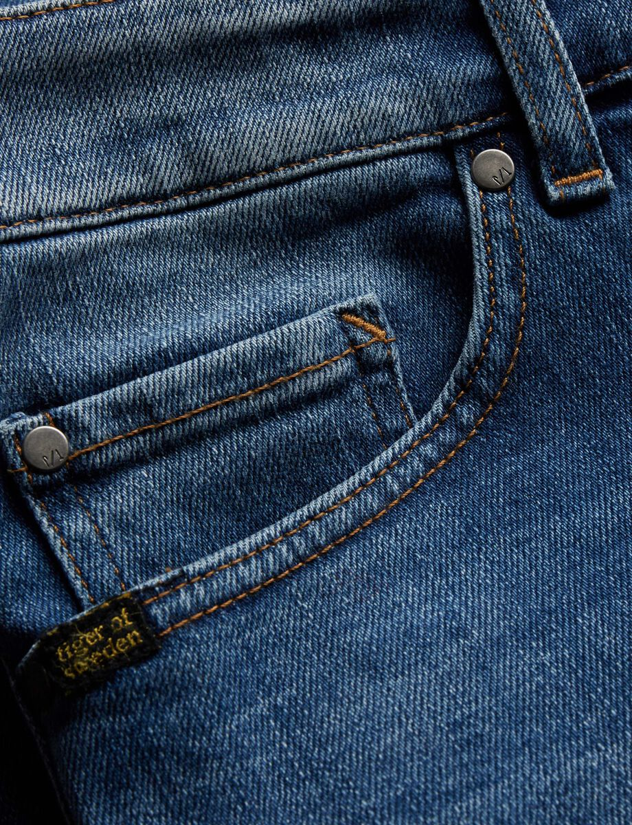 Straight Jeans in Medium Blue from Tiger of Sweden