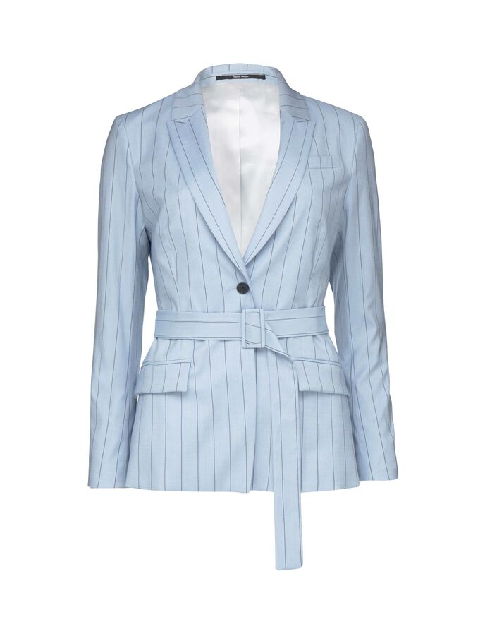 THELIA 2 BLAZER in Art Deco Blue from Tiger of Sweden