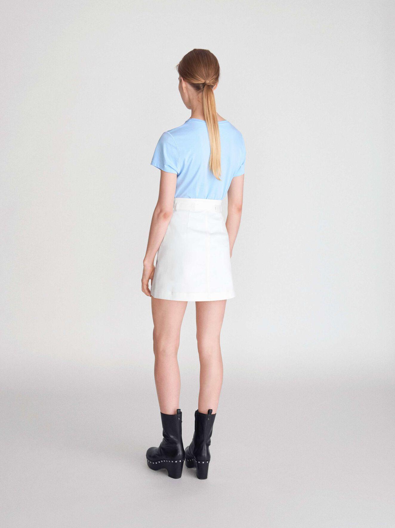 Popsicle Skirt in White Light from Tiger of Sweden