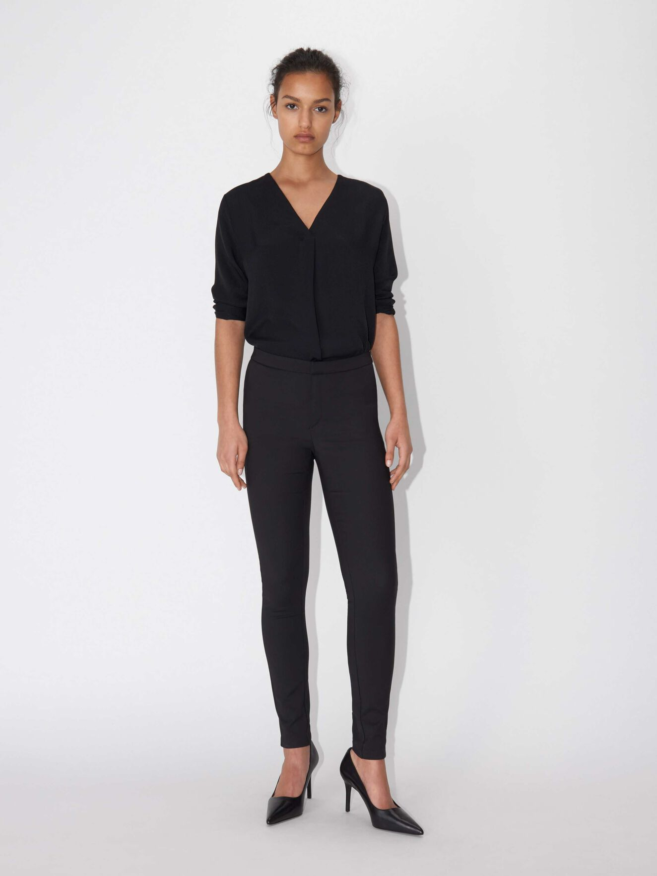 Cristin S trousers in Black from Tiger of Sweden