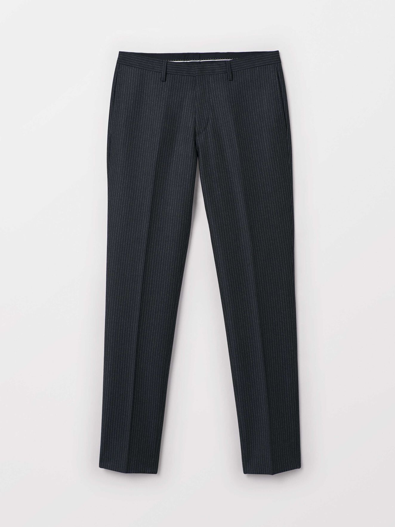 Toivo Trousers in Med Grey Mel from Tiger of Sweden