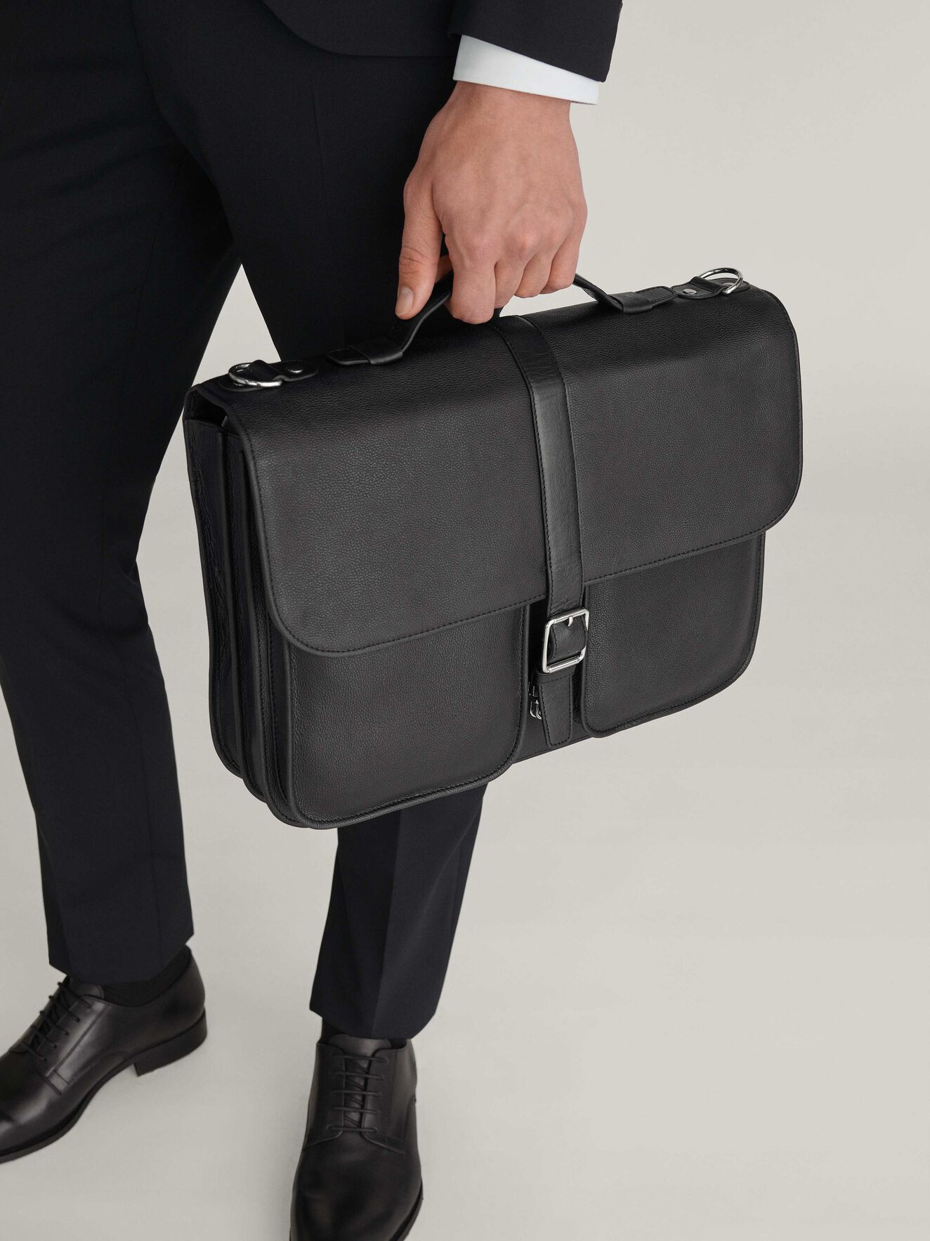 Lucha Briefcase in Black from Tiger of Sweden