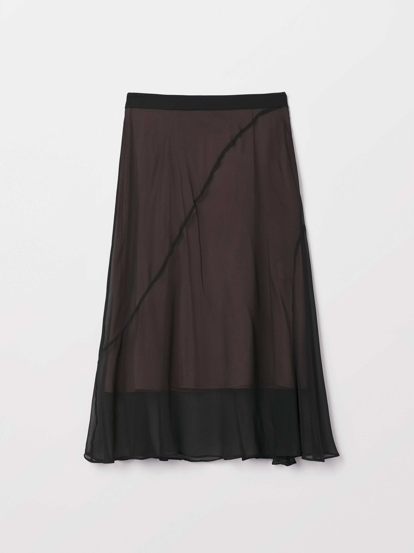 Majo Skirt in Midnight Black from Tiger of Sweden