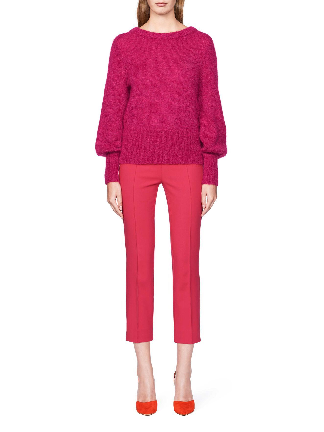 CHAIL PULLOVER in Dark Cerise from Tiger of Sweden