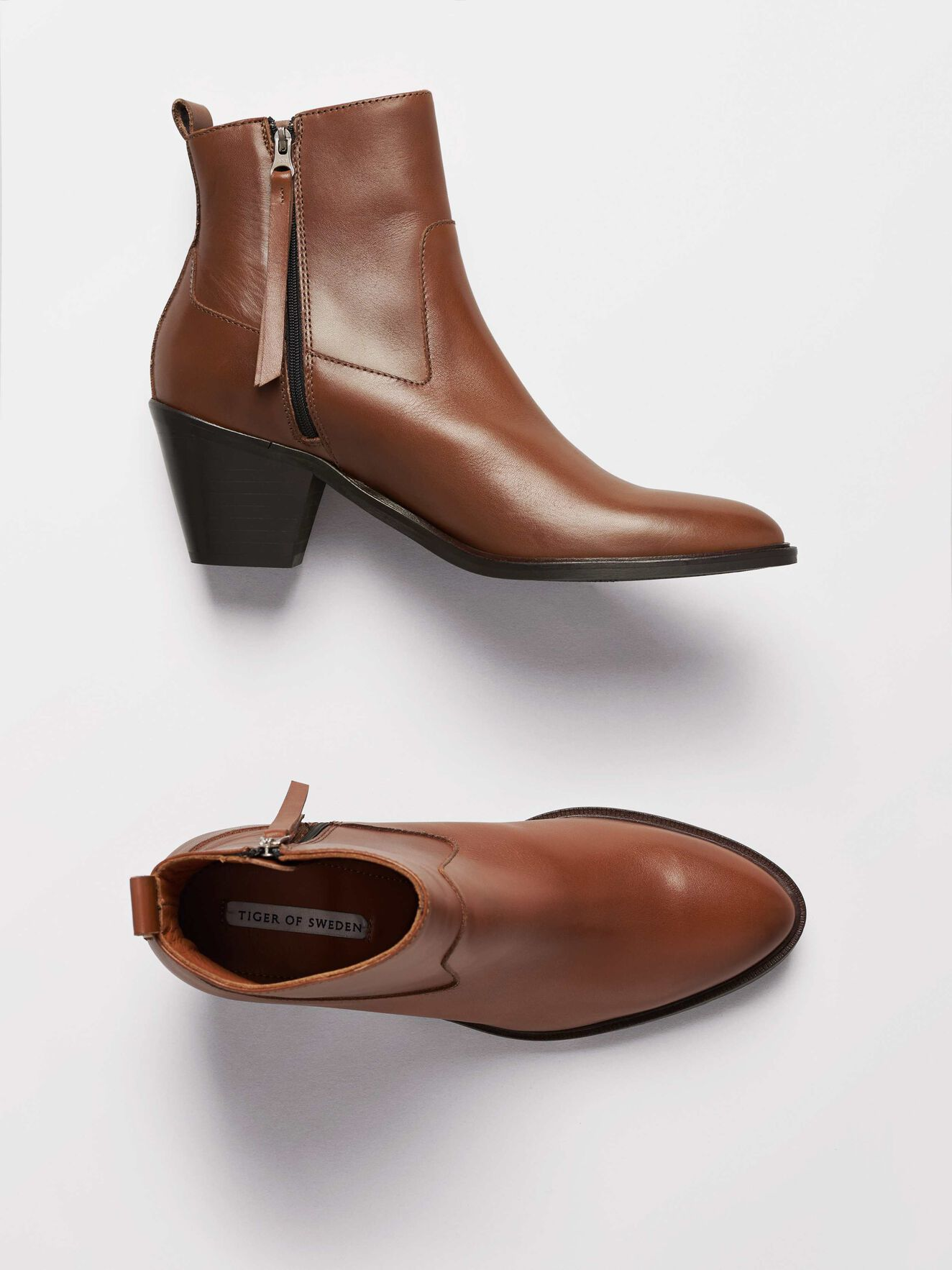 Eye Boots in Cognac from Tiger of Sweden