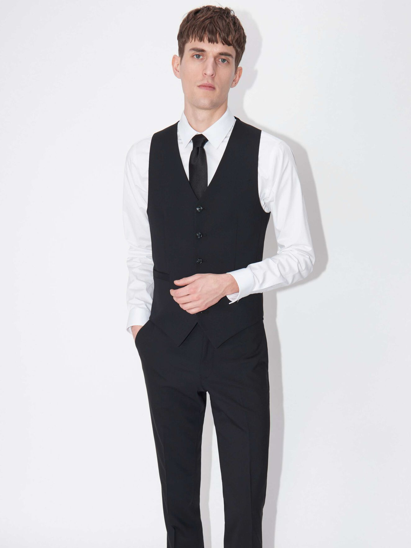 Litt Waistcoat in Black from Tiger of Sweden