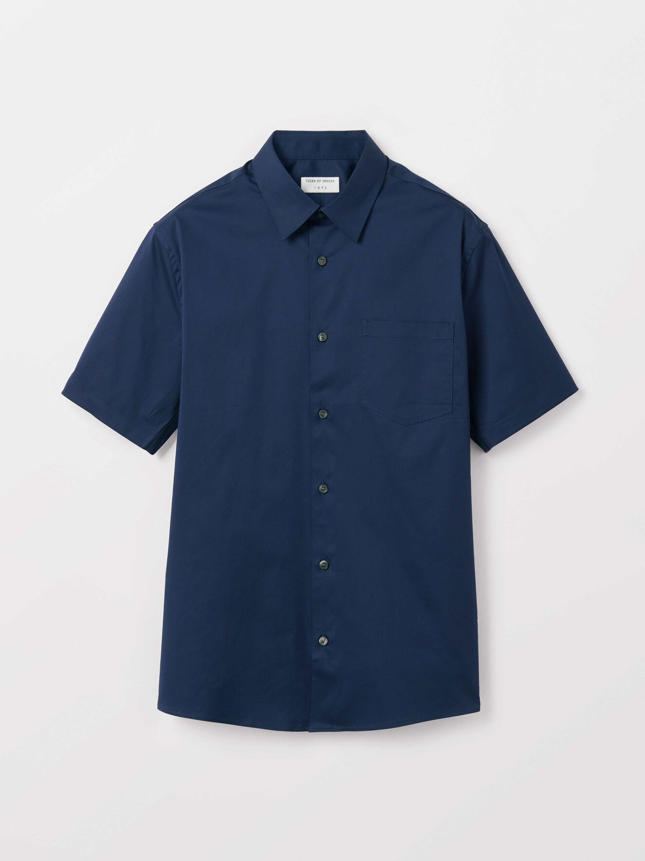 Fonzo Shirt in Blue from Tiger of Sweden