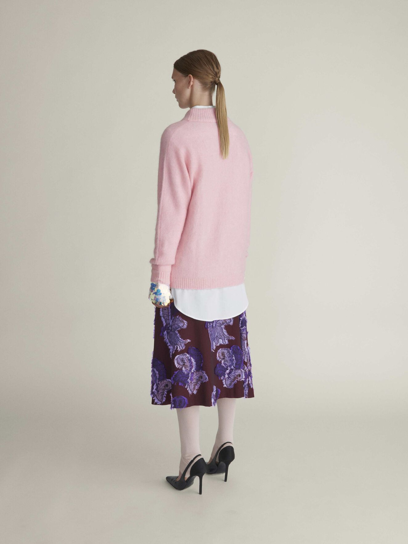 Cassio Pullover in Peach Blush from Tiger of Sweden