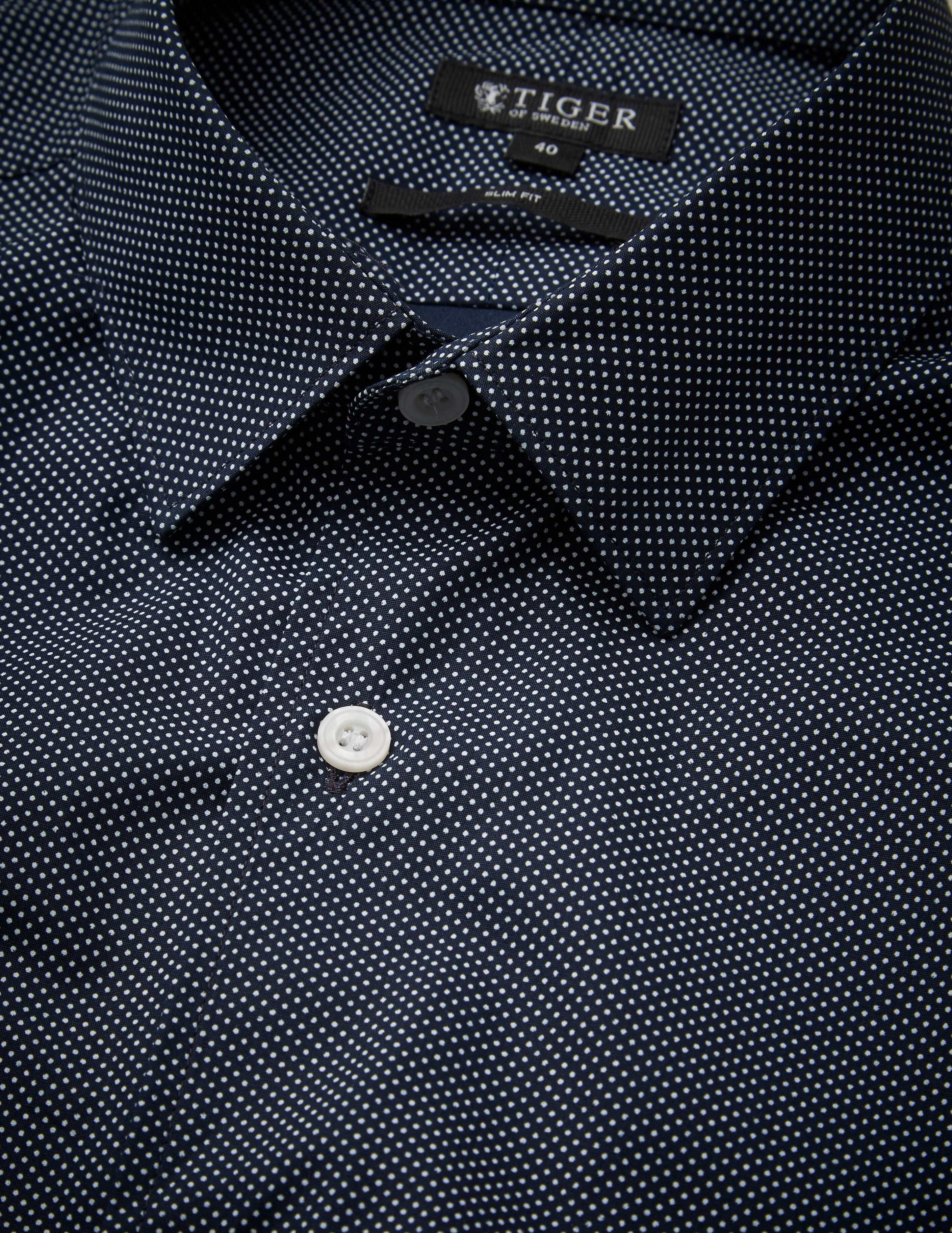 Farrell 4 shirt in Outer Blue from Tiger of Sweden