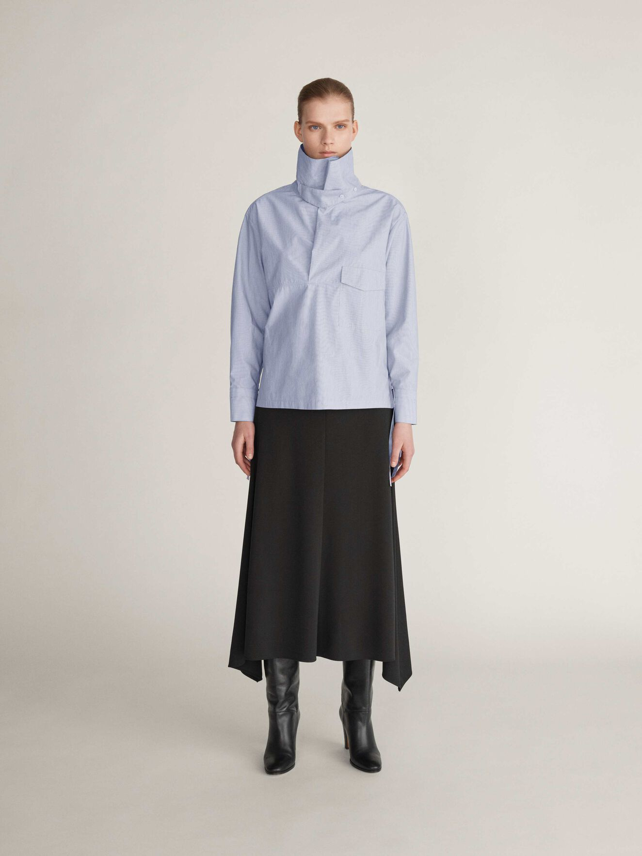 Karpell S Shirt in Soft Wave from Tiger of Sweden