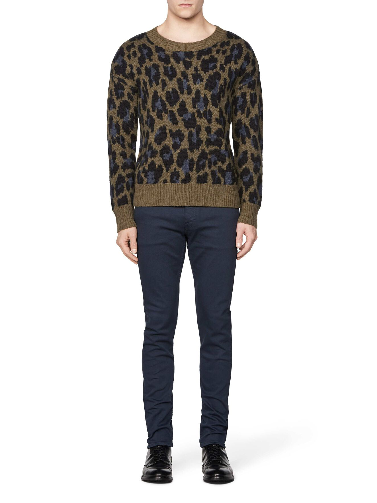 PETTER LEO PULLOVER in Pattern from Tiger of Sweden