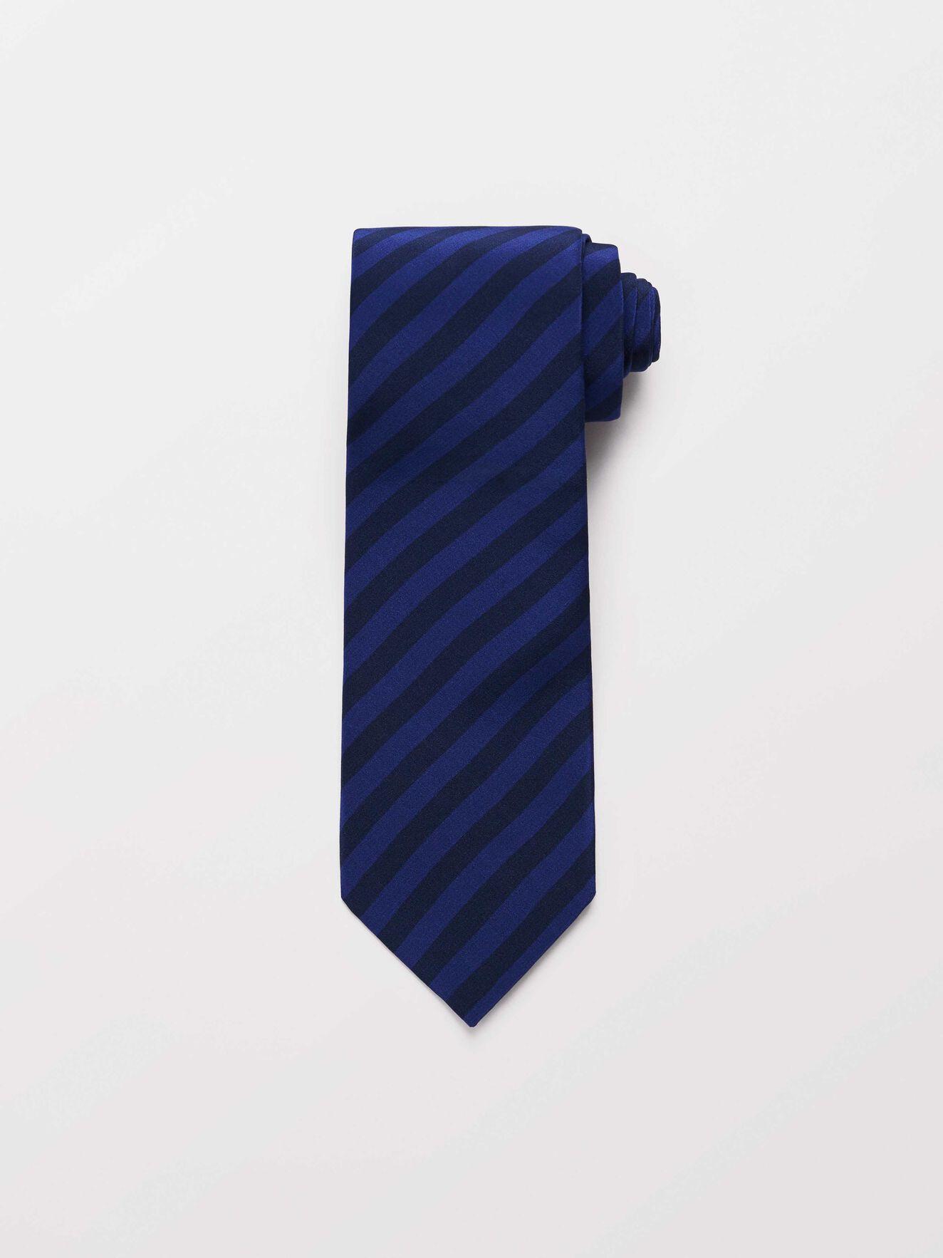 Theca Tie in Deep Ocean Blue from Tiger of Sweden