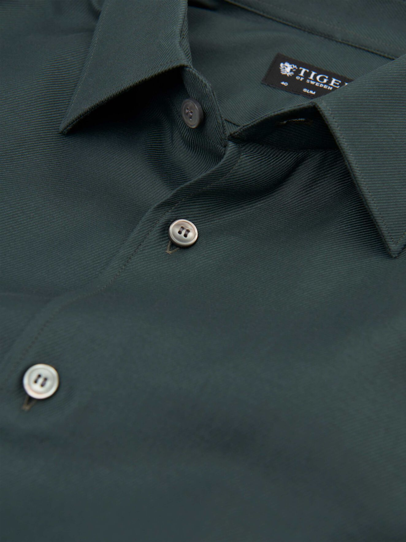 Farrell Shirt in Wood Green from Tiger of Sweden