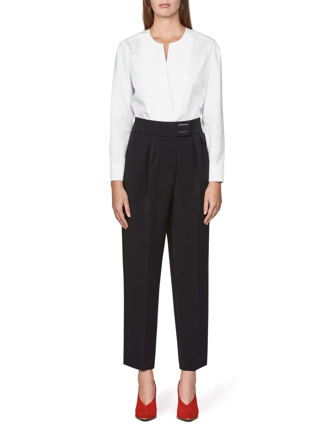 Aero Trousers in Midnight Black from Tiger of Sweden