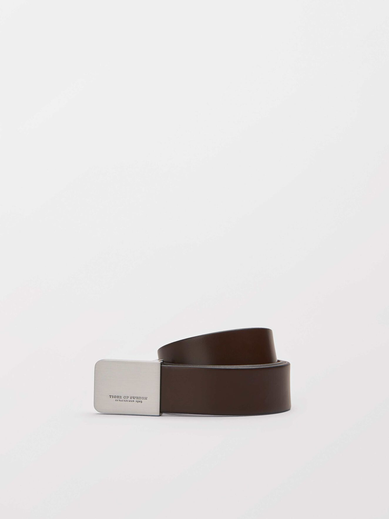 Churberg belt in Dark Brown from Tiger of Sweden
