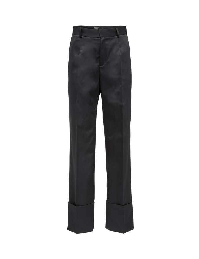 ODERIA TROUSERS in Midnight Black from Tiger of Sweden
