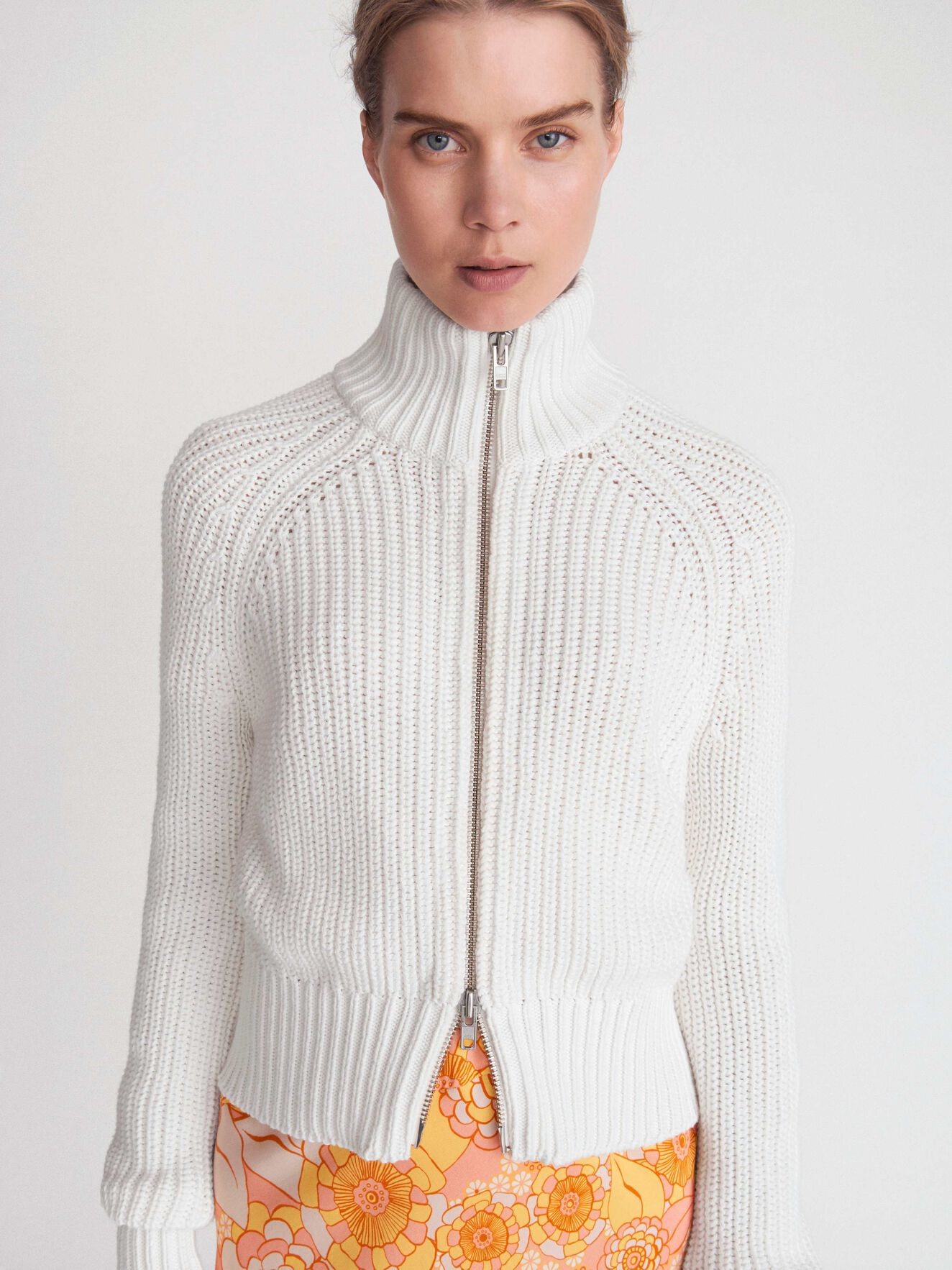 Cabalia Cardigan in Star White from Tiger of Sweden