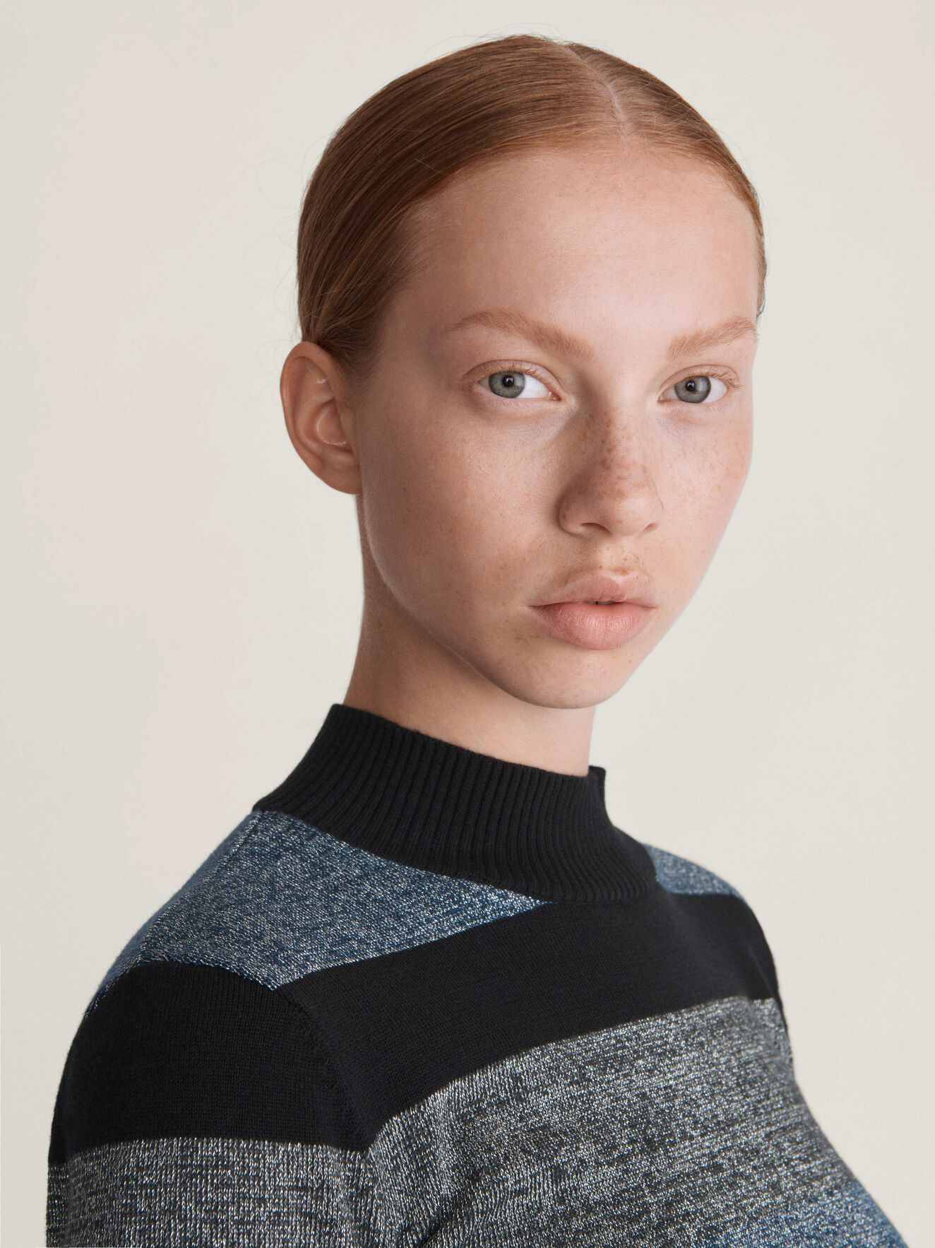 Erges St Pullover in Pattern from Tiger of Sweden