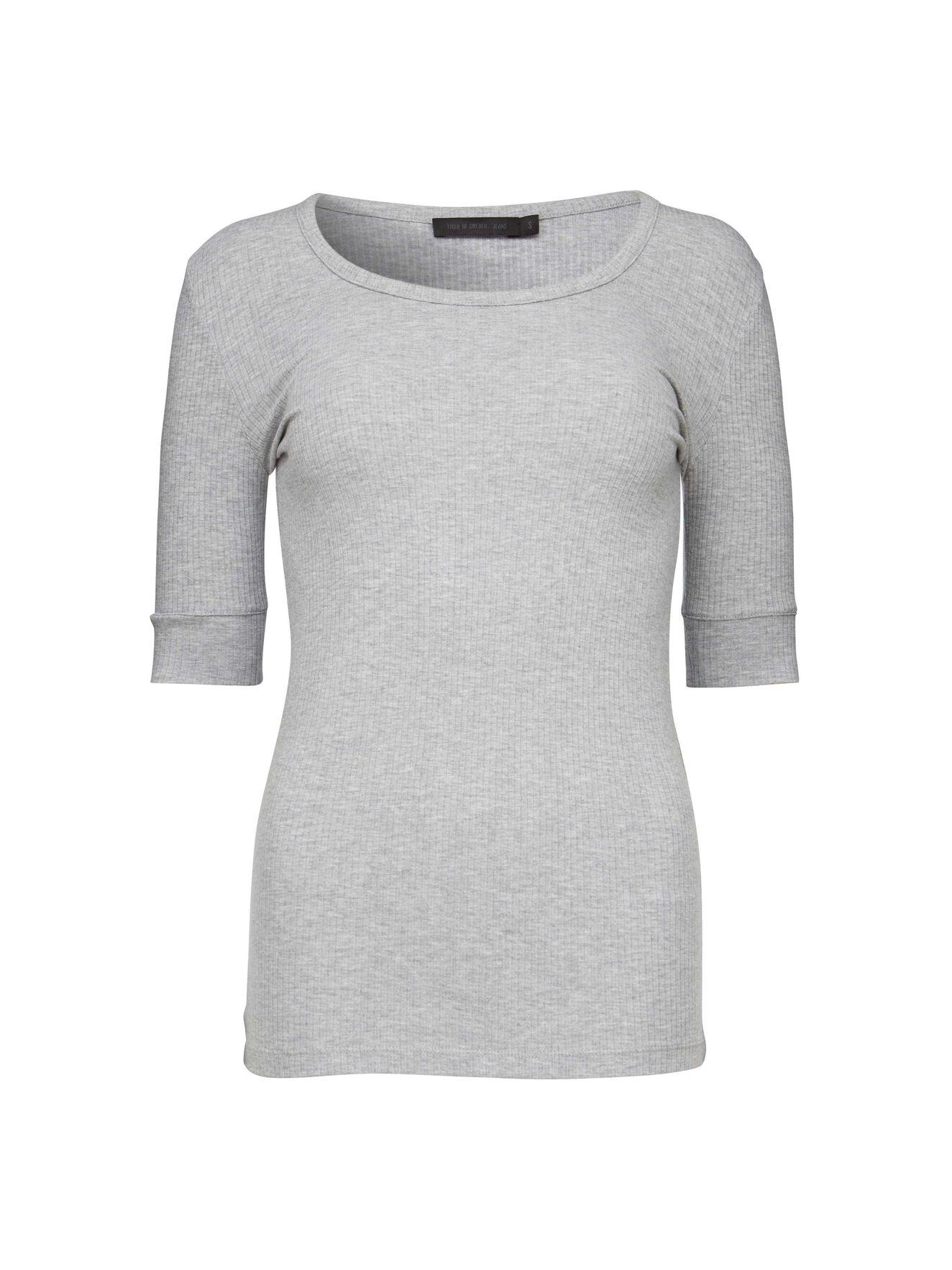 Violent T-Shirt in Med Grey Mel from Tiger of Sweden