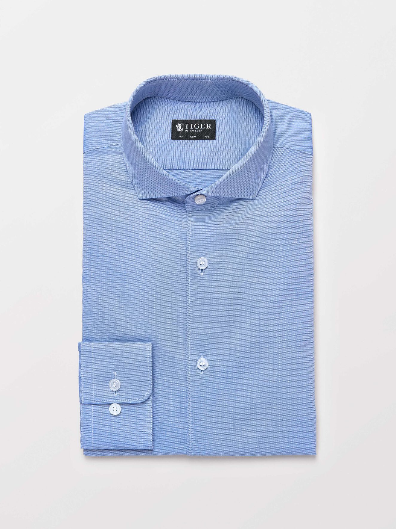 Farrell 5 Shirt in Blue from Tiger of Sweden