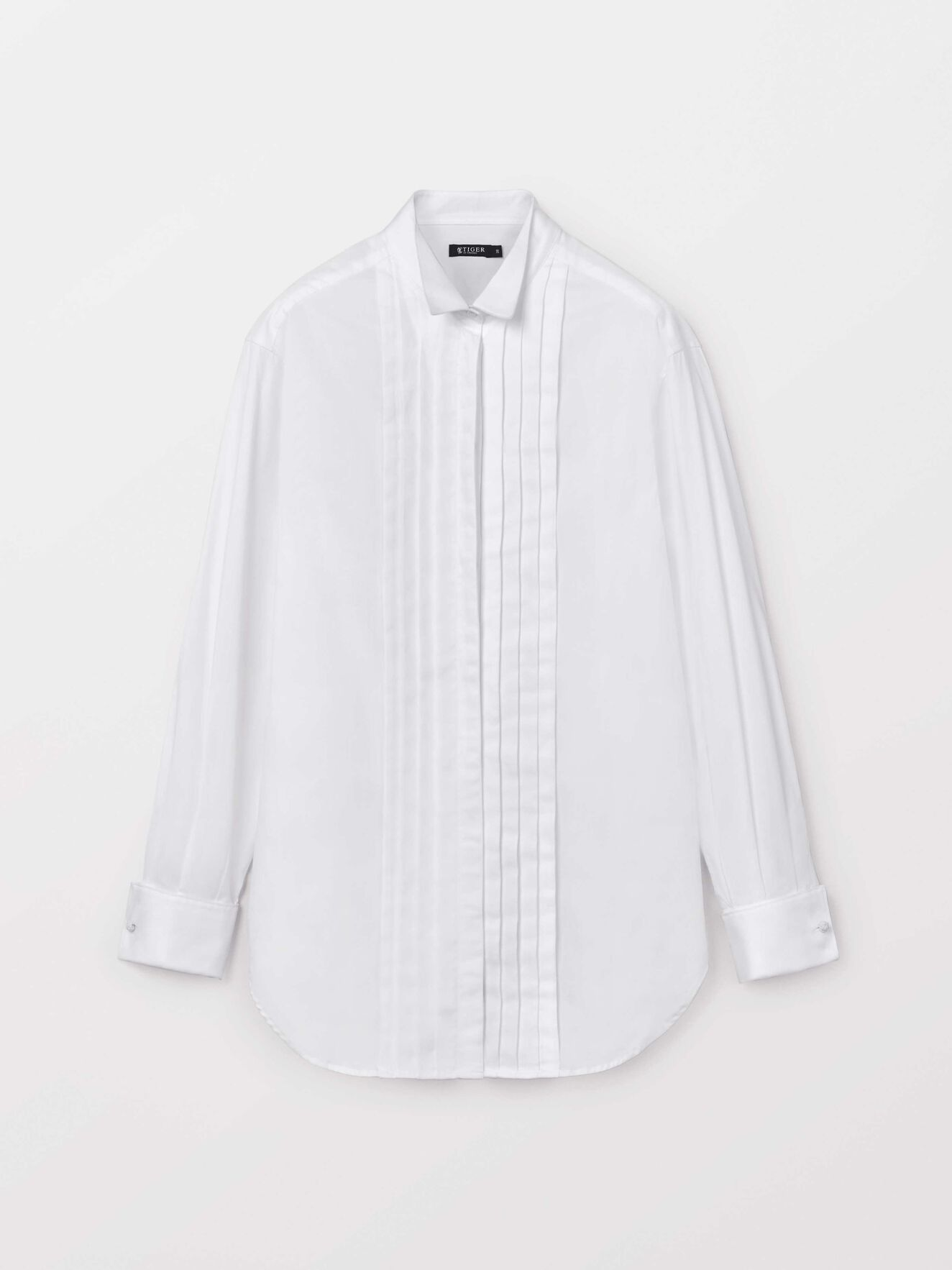 Kolv Co Shirt in Bright White from Tiger of Sweden