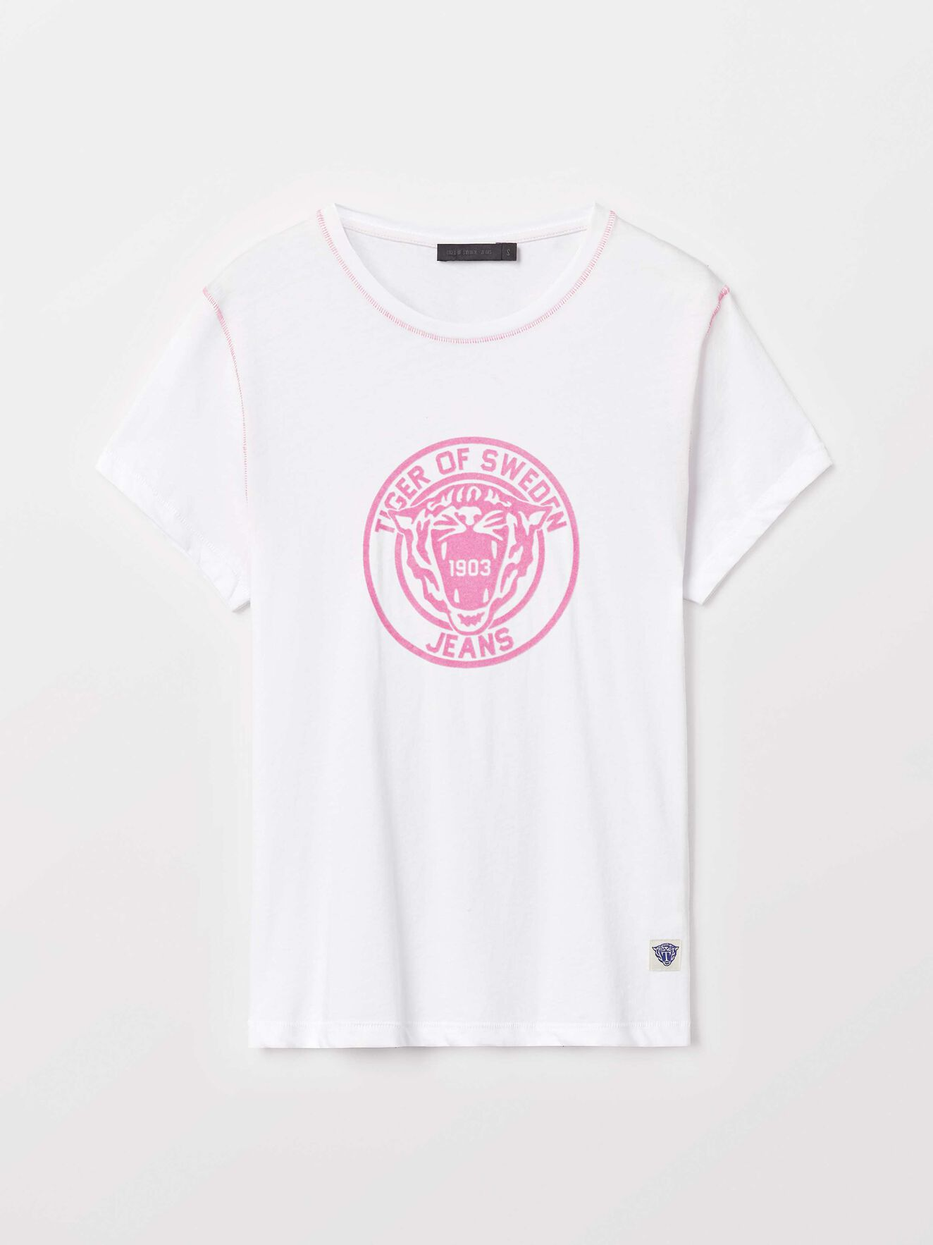 Nice Pr T-Shirt in White from Tiger of Sweden