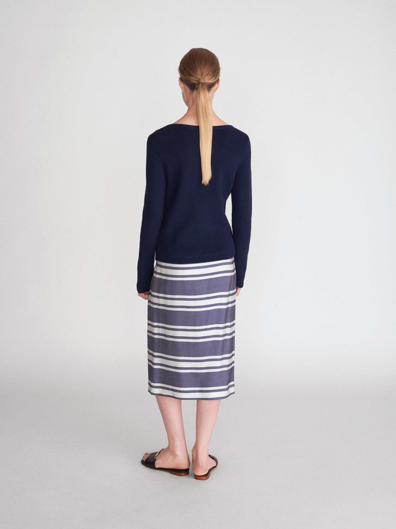 Tanako Pullover in Blue from Tiger of Sweden