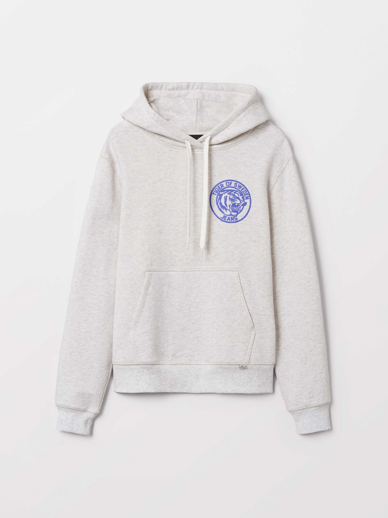 Optic Hoodie in White Light from Tiger of Sweden