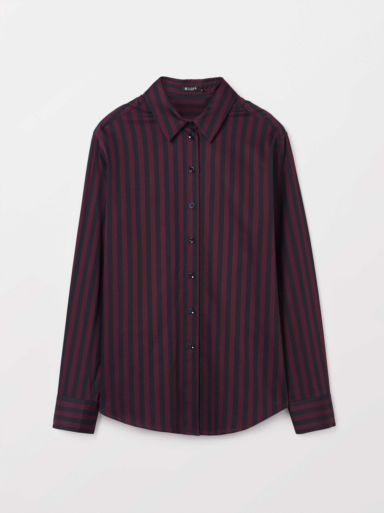 Ris S Shirt in Juicy Plum from Tiger of Sweden