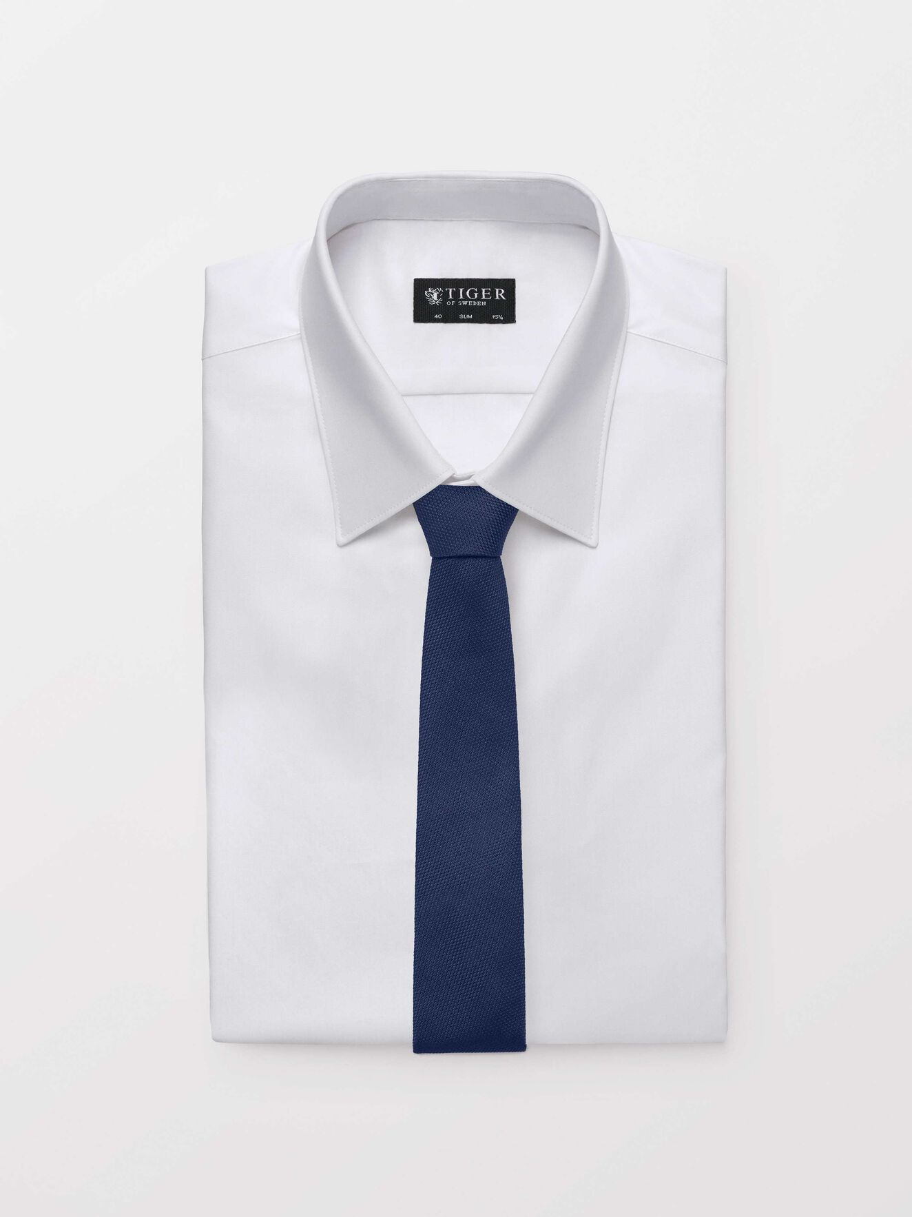 Terete Tie in Light Ink from Tiger of Sweden