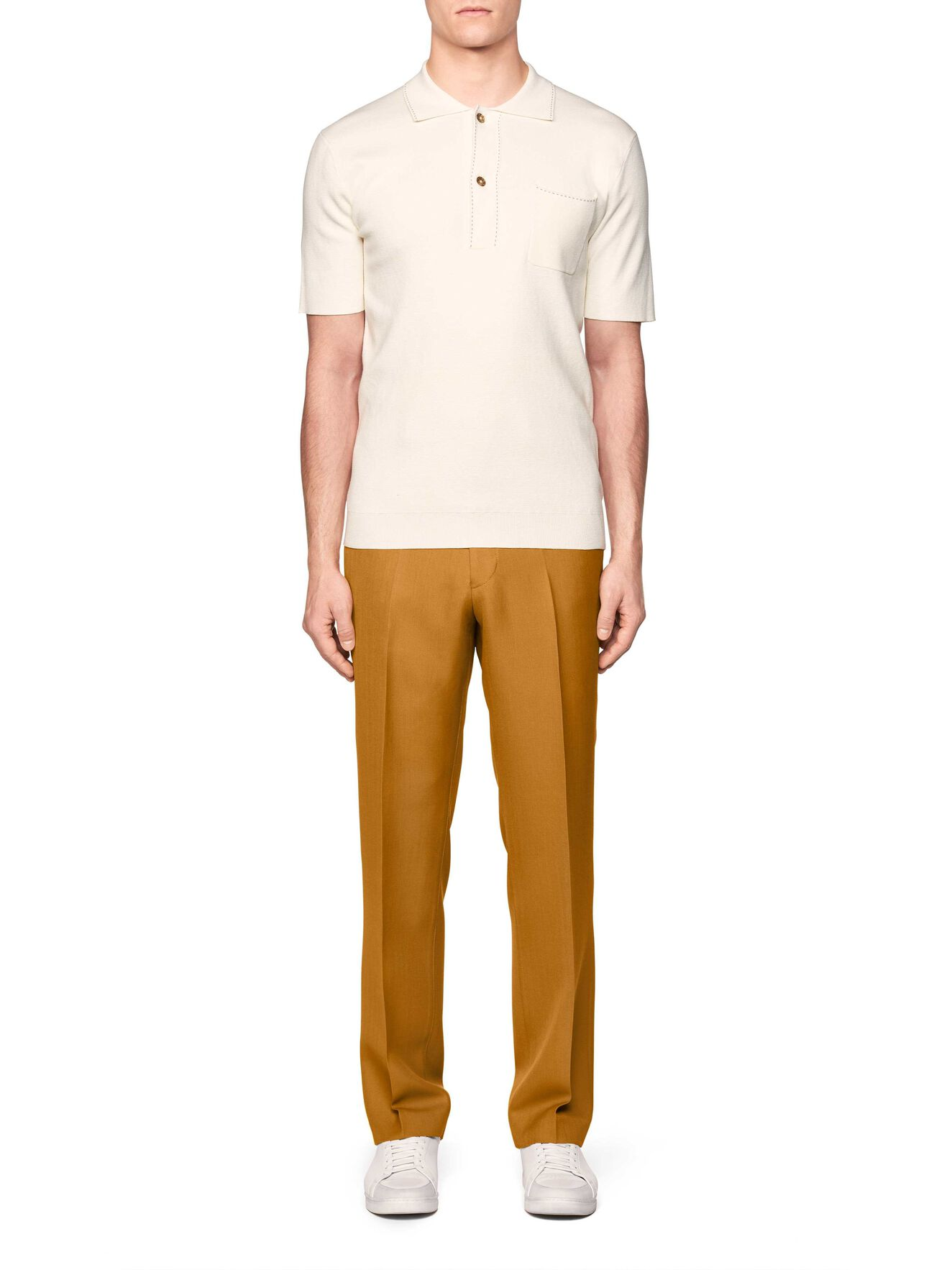 Howman Polo Shirt in Soft White from Tiger of Sweden