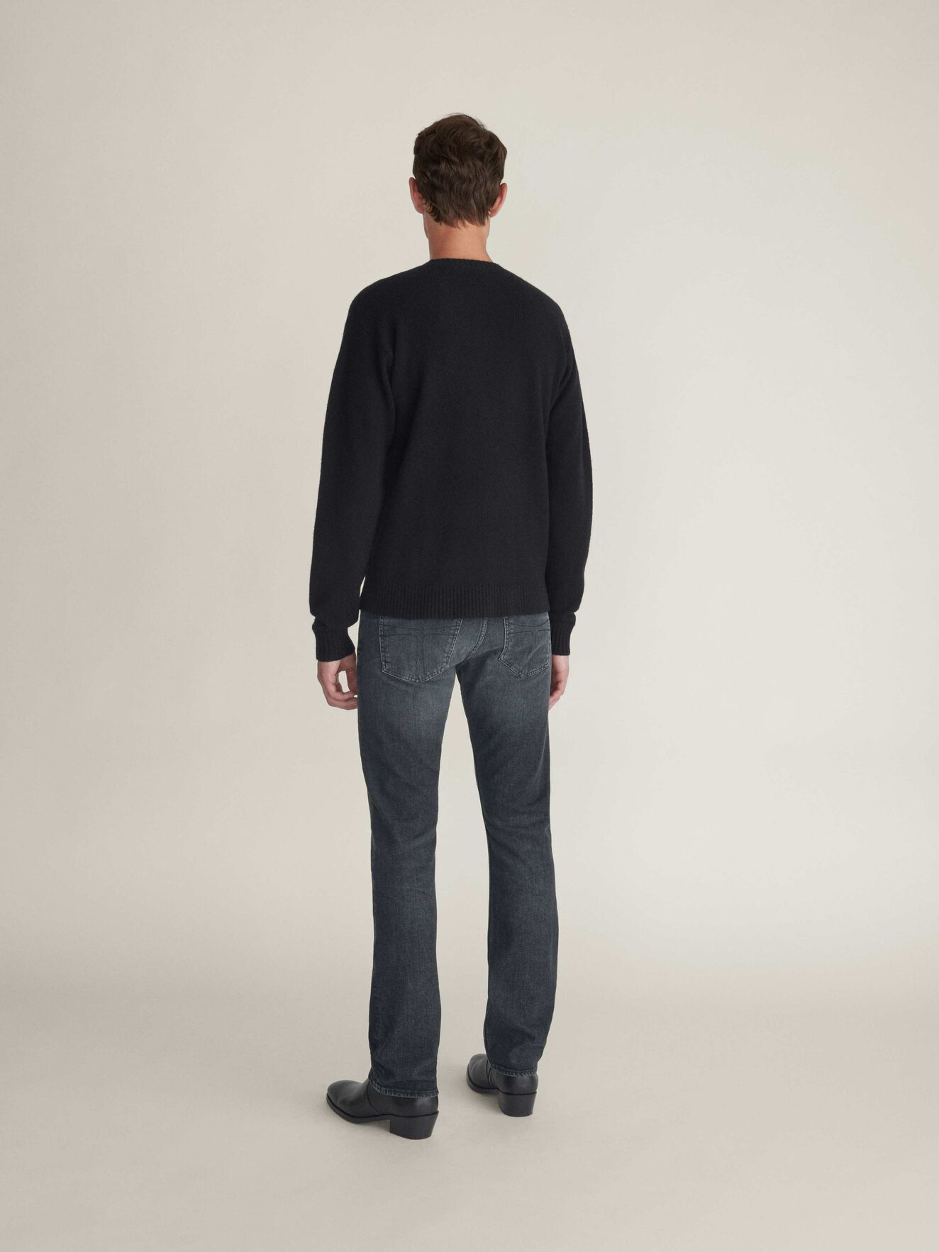Saif Pullover in Black from Tiger of Sweden