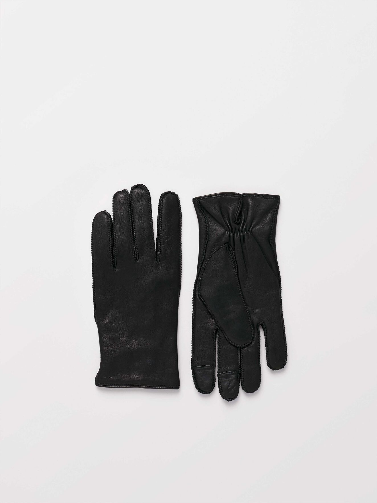 Gandalus Handschuhe in Black from Tiger of Sweden