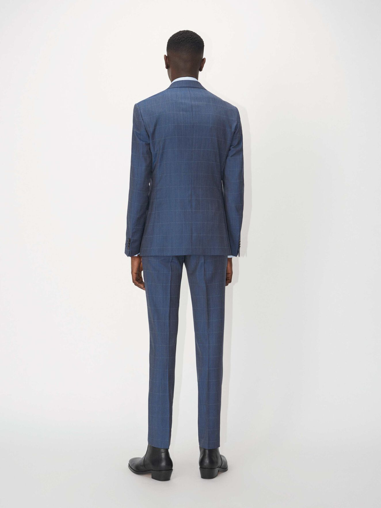 S.Jamonte Suit in Port Blue from Tiger of Sweden