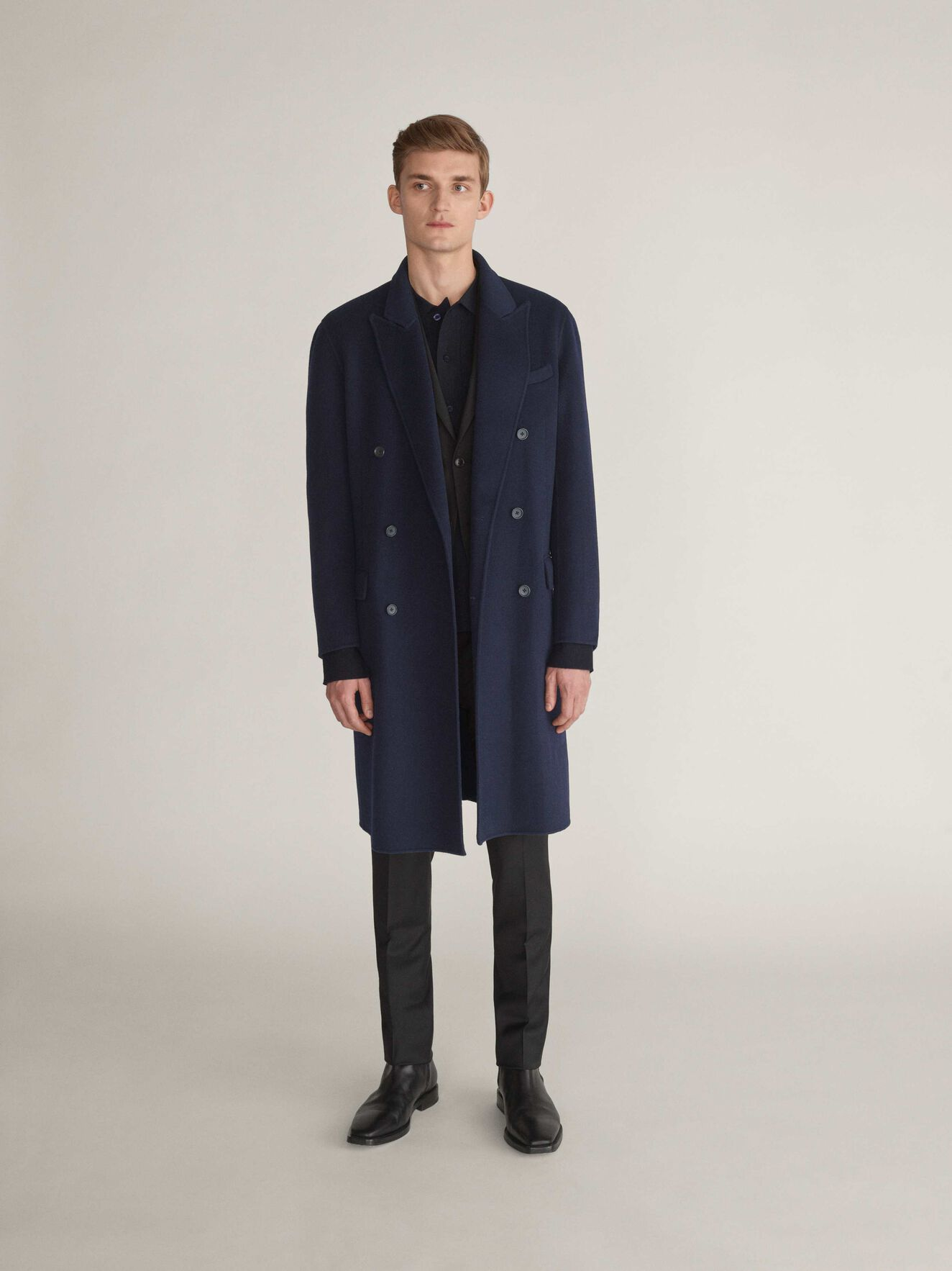 Callen Coat in Light Ink from Tiger of Sweden
