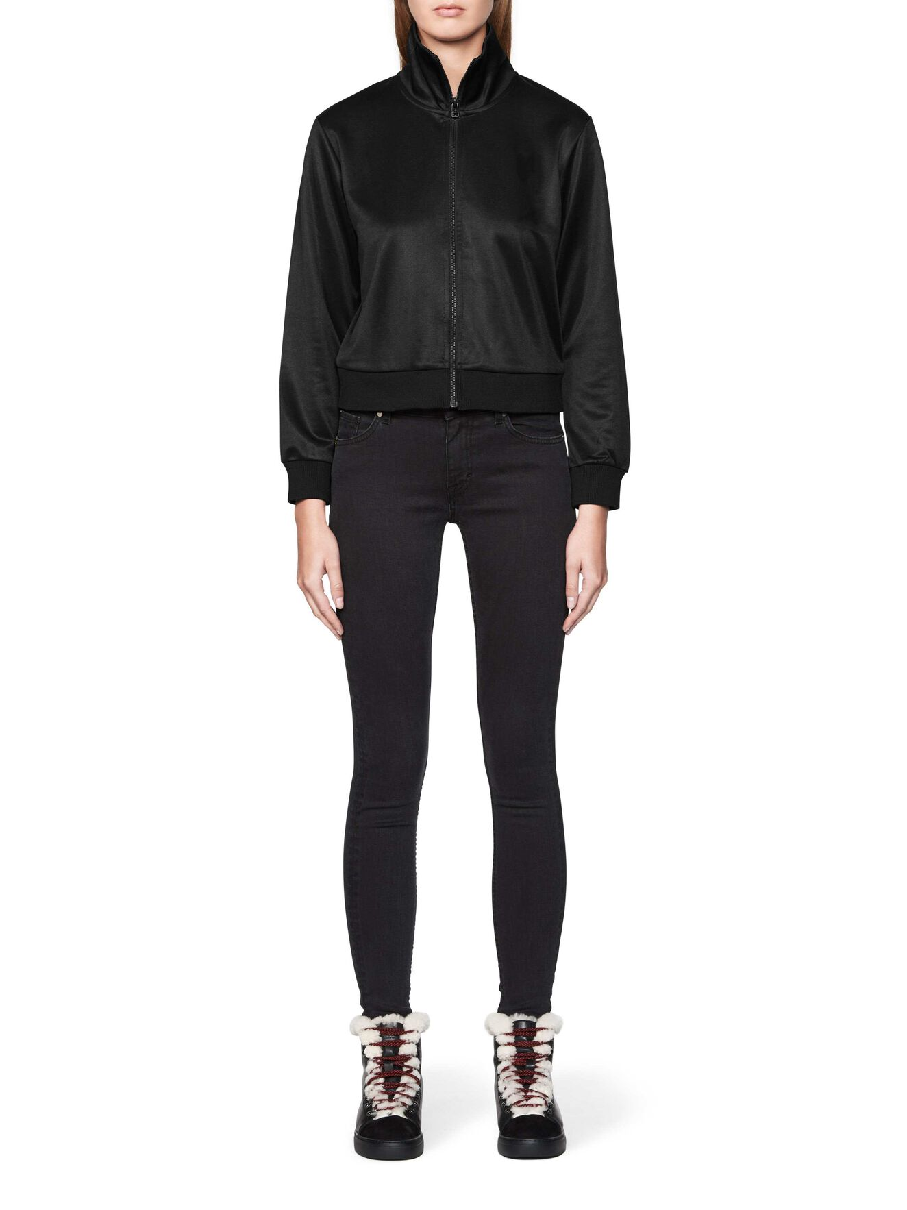 CHIC SWEATSHIRT in Black from Tiger of Sweden