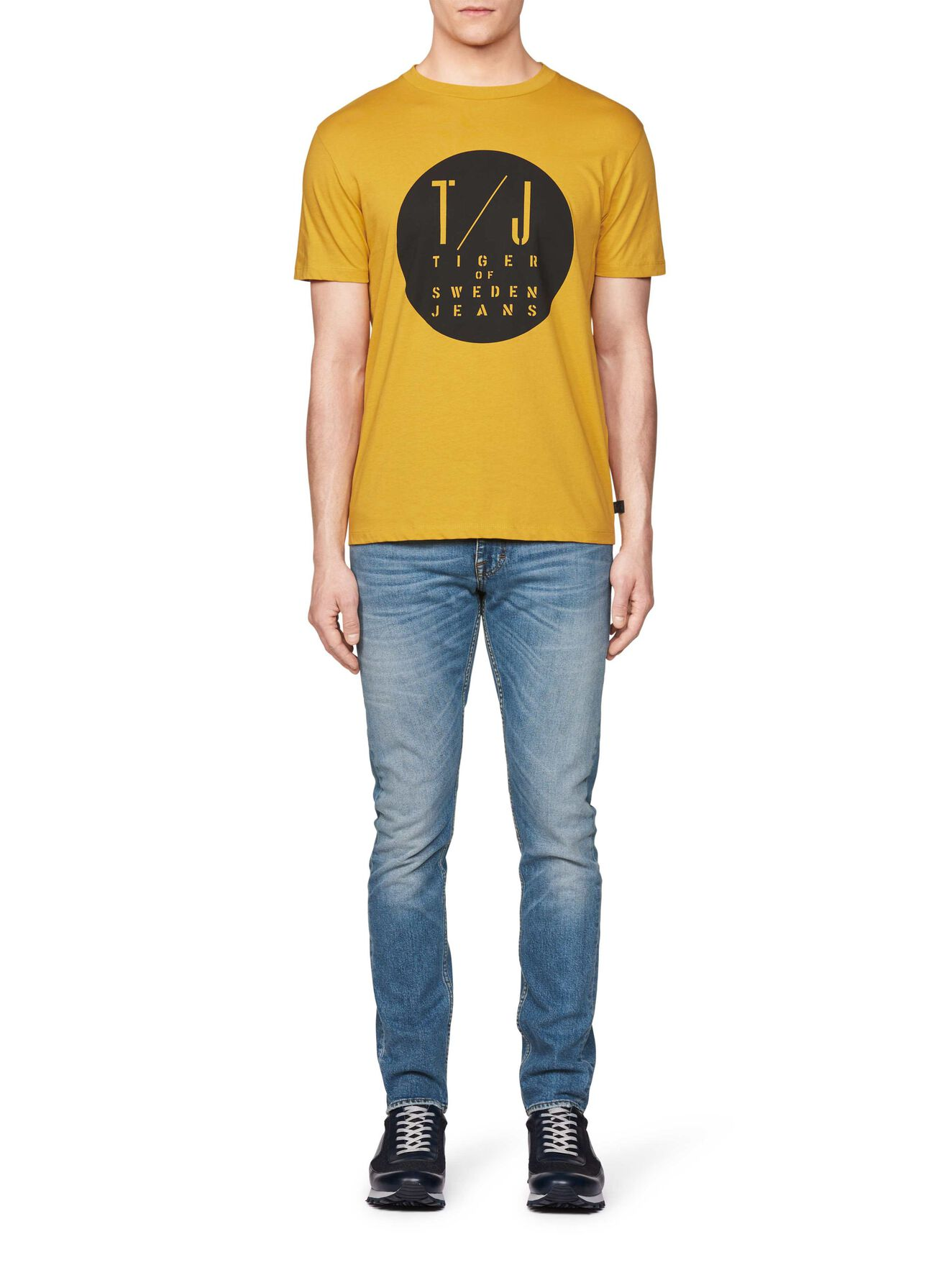 FLEEK T-SHIRT in Mustard from Tiger of Sweden