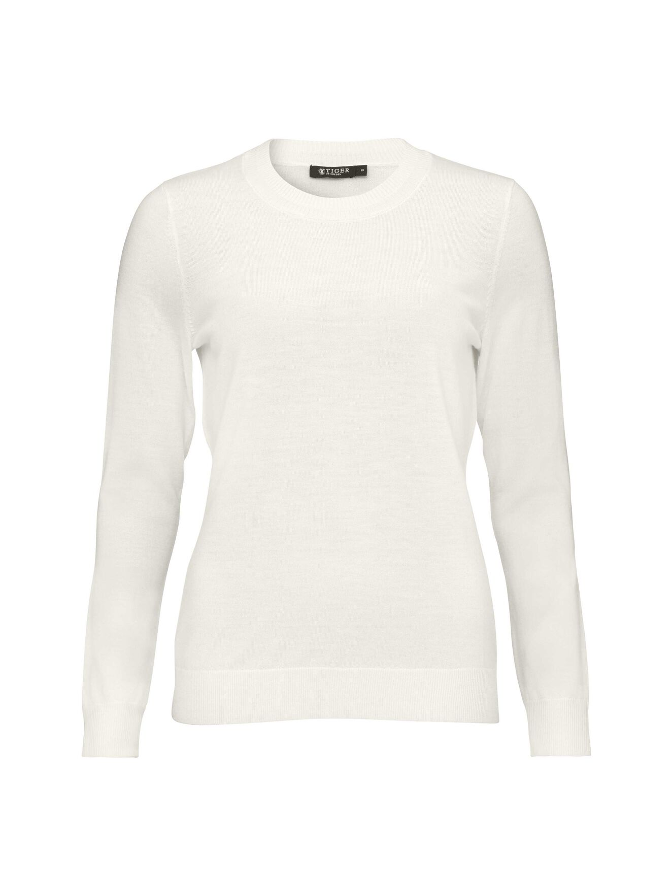 Cory Pullover in Star White from Tiger of Sweden