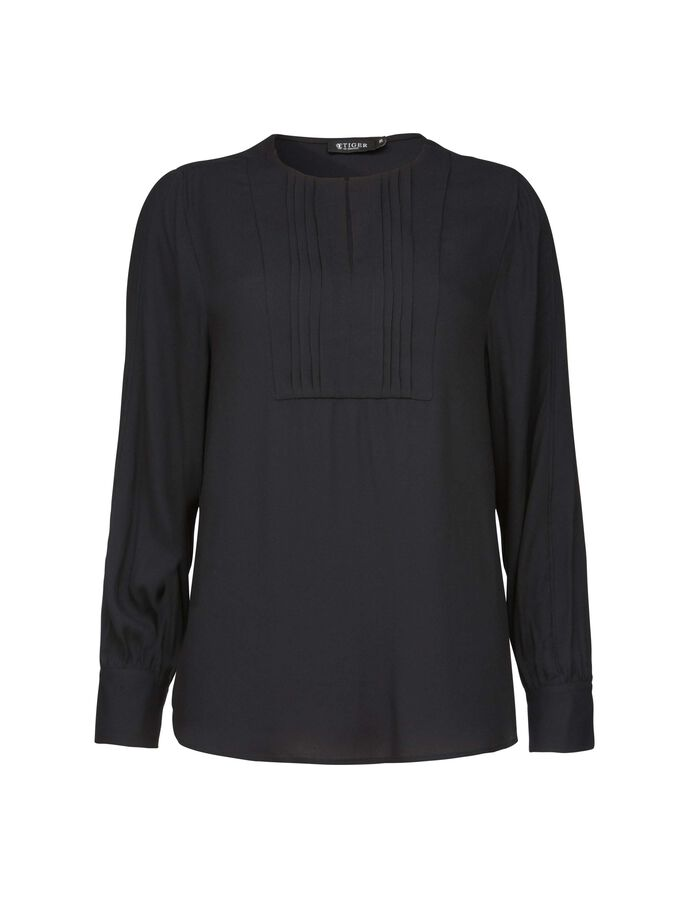 AYN BLOUSE in Midnight Black from Tiger of Sweden