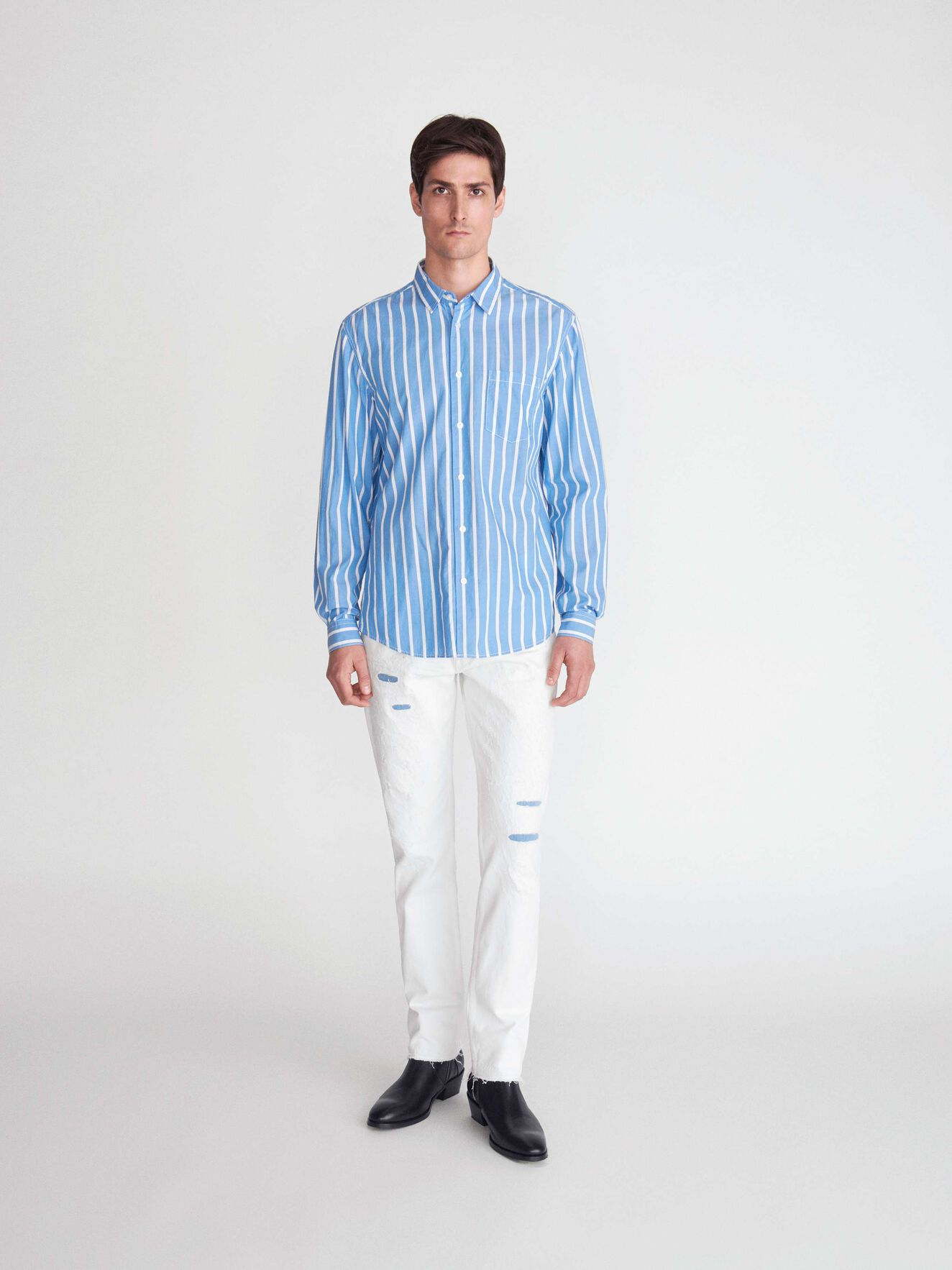 Part Str Shirt in True Sailor from Tiger of Sweden